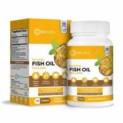 Fish Oil Softgel Capsules - Elicura Fish Oil (60 Softgels), Patco Pharma