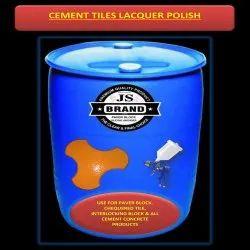 Cement Tiles Lacquer Polish