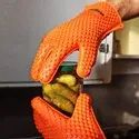 Silicon Anti- Scald Glove Microwave Oven Mitts Pot Holder