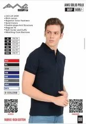 AWG Solid Polo T Shirt