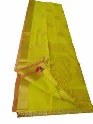 Party Wear Printed Ladies Designer Silk Saree, 6.3 m (with blouse piece)