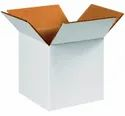Custom Printed Square White Duplex Corrugated Box, For Gift & Crafts, Weight Holding Capacity (kg): <5 Kg