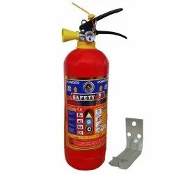 Safetyone A B C Dry Powder Type Abc Fire Extinguisher 2 Kg, For Industrial