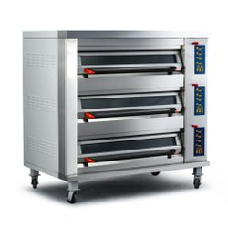 Stainless Steel Electric SS Commercial Pizza Oven