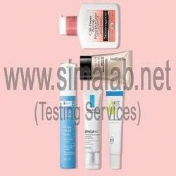 Microbiological Chemical Oily Skin Cream Testing Services, In Laboratory, In Lab