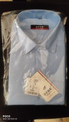 DFNK Plain Men Corporate Shirts, Machine wash, Size: Medium