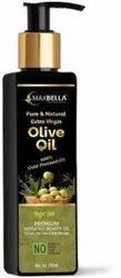 MaxBella Olive Oil Extra Virgin 100% Natural & Pure Cold Pressed for Skin,Face Massage,Hair