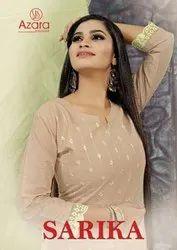 Radhika Azara Sarika Cambric Cotton Embroidered Dress Material Catalog