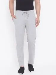 Harbor N Bay Men Grey Solid Straight- Fit Track Pants
