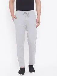 Harbor N Bay Men Grey Solid Straight - Fit Track Pants