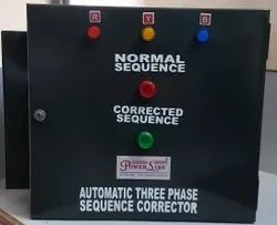 Automatic Three Phase Sequence Corrector