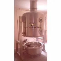 Stainless Steel 304 Fluid Bed Dryer