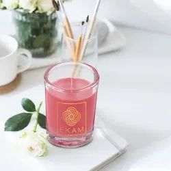 Aroma many Shot Glass Candles scented, Packaging Type: Individual Pack