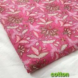 Multi Color Cotton Fabric, Floral, Multicolour