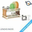 Plastic Silver Aristo Lenovo Kitchen Organiser Rack, For Storage, Size: 51 X 33 X 27 Cm