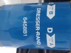 Mild Steel Dresser Rand LPG Compressor Oil Filter