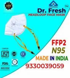 Dr Fresh N95 Headloop Mask With Adjuster