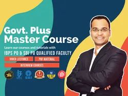 Govt. Plus Master Course For All Government Exams