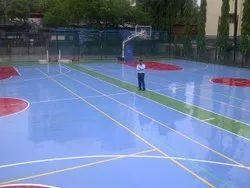 PU Outdoor Tennis Court