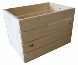Rectangle Pinewood Packaging Boxes, For Gift & Crafts, Size(LXWXH)(Inches): 36l*30w*30h Inch