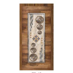 Decorative Rectangular Plywood Door