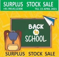 Mix Brands Polyester School Bags Surplus