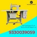 Semi Automatic Non Woven D Cut Bag Making Machine
