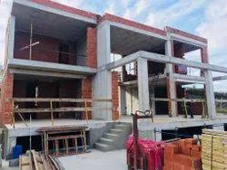 Steel Frame Structures Concrete Luxury Commercial Building Construction Service