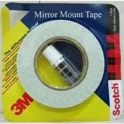 Color: White 3m Mirror Mount Tape