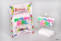 Birthday Girl Candle