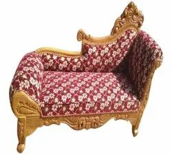 Saleem Handicraft Two Seater Wooden Couch Sofa