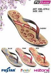 Ladies Niwar Strap Slipper