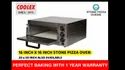 Single Deck Stone Pizza Oven