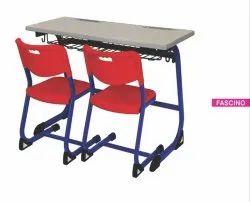 School Bench Classroom Desk Fascino Furniture