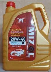 20w 40 Engine Oil MIZOL PLATINUM, Grade: Api-sn
