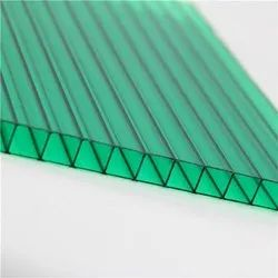 Polycarbonate Multiwall Green Roofing Sheet