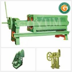 Filter Press Plate And Frame Type