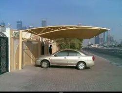 Fiber Modular Parking Roofing Shed