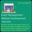 1 Year Php/javascript Event Management Website Development Services, With 24*7 Support, Pan India