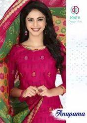 Deeptex Prints Anupama Cotton Readymade Salwar Suit Catalog