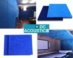 Blue Polyester Fiber Acoustic Panel