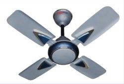 Digismart Silver & Blue 4 Blades Ceiling Fan, Sweep Size: 600 Mm