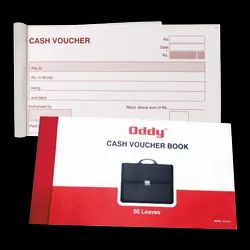 Oddy Cash Voucher - (CV-01) - (50 Leaves) - Offset Printed - (7.5 x 4 inches)