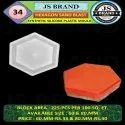 Hexagon Sand Blast Synthetic Silicone Plastic Mould