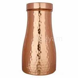 Hammered Copper Jar