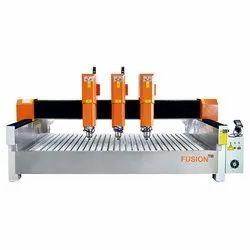 CS3014-3 Stone Cutting & Engraving CNC Router Machine (3 Head)