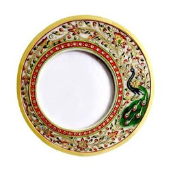 Stone Multicolor Marble Handicrafts Photo Frame, For Home