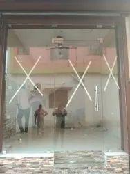 Frameless Glass Partition