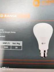 PVC Round Orient LED Bulb 5 Watt