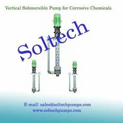 Vertical Submersible Pump for Corrosive Chemicals